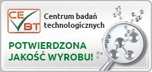 Centrum badań technologicznych - Potwierdzona Jakość wyrobu